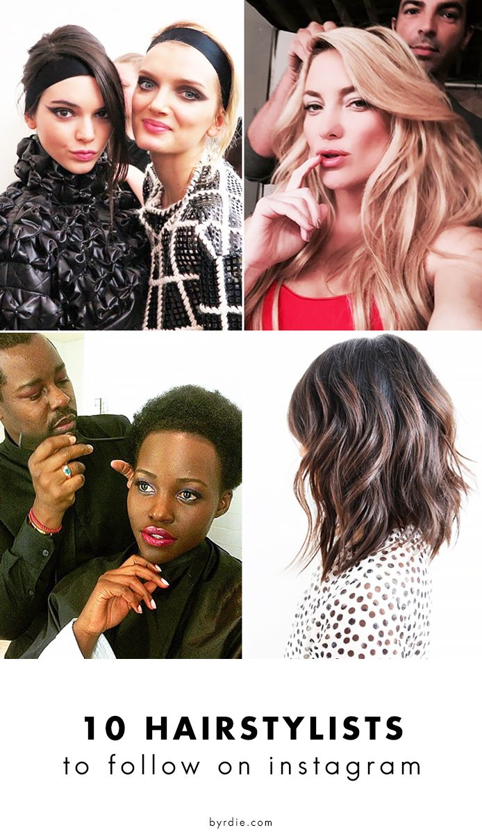 The best hairstylists to follow on Instagram for major hair inspiration