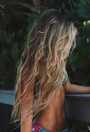 effortlessly perfect beachy waves