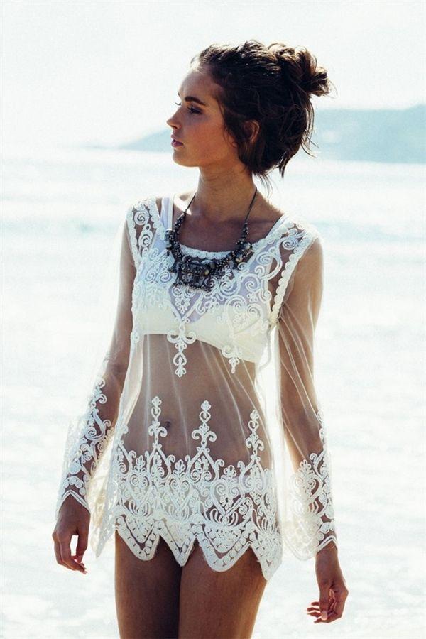 Áo váy rengợi cảm kín đáo thế này sẽ giúp bạn chinh phục đ...