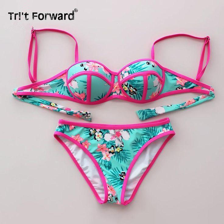 Cheap Nuevo estilo occidental empuja hacia arriba lindos trajes de baño Bikini ...