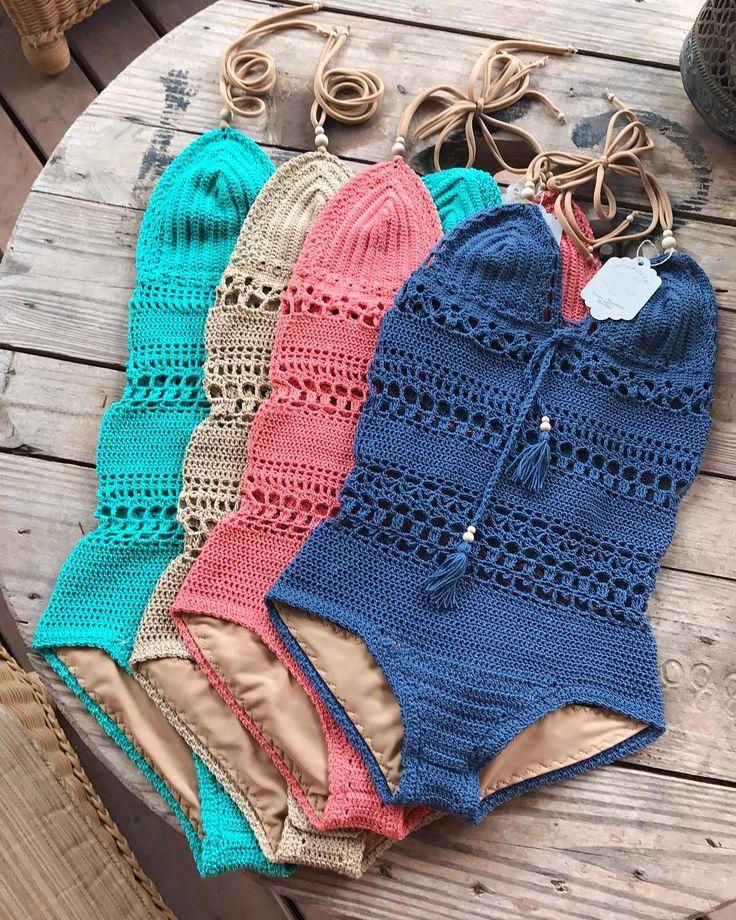Giana Swimsuit, one of my Favorite!! Crochet pattern in my Etsy shop (link in bi...