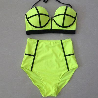 Sexy High Waist Bikini
