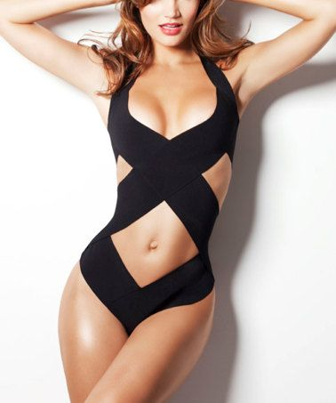 TOP selling swimsuit as seen in GQ one piece bandage by liliash, $135.00