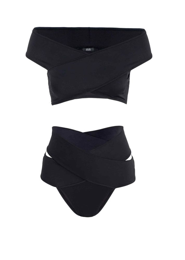 The Top Swimsuit Trends of Summer 2016 | Off The Shoulder Top, High Waist Bottom...