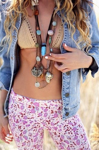 ╰☆╮Boho chic bohemian boho style hippy hippie chic bohème vibe gypsy fash...