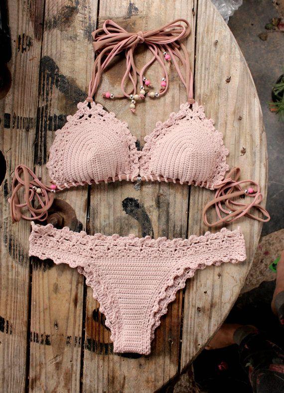 2 PDF Crochet PATTERNS Lorelei Bikini Pattern por CapitanaUncino