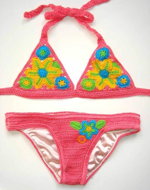 Crochet Milleflori Bikini - Banded bottom