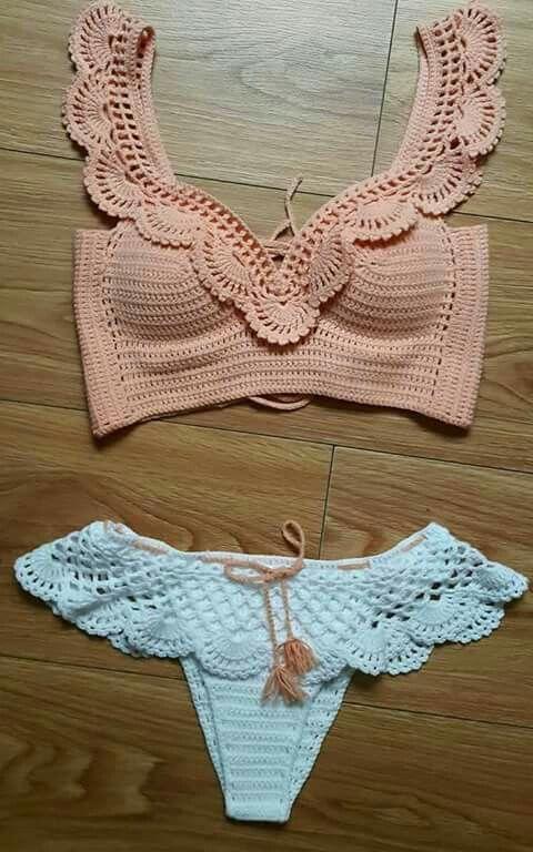 Crochet top bottoms