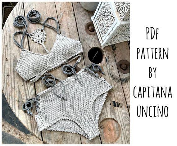 PDF-file for Crochet PATTERN Aliyah Crochet por CapitanaUncino