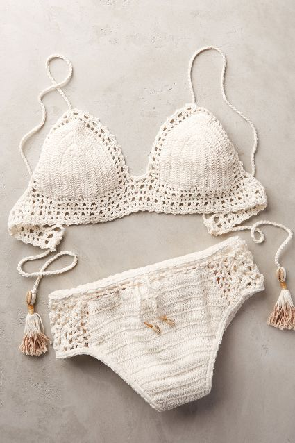 She Made Me Crochet Top #anthrofave