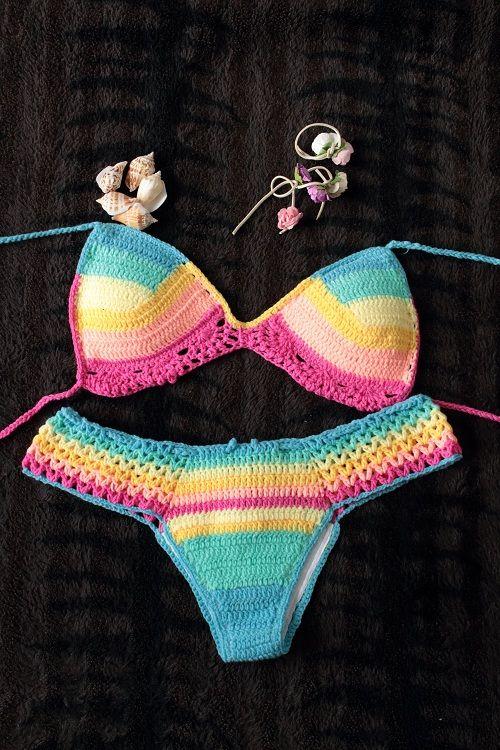 handmade crochet bikinis                                                        ...