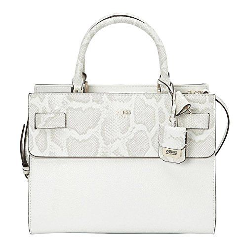 GUESS Cate Satchel Bone Multi ** Read more at the image link. (This is an affili...