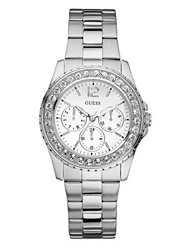 GUESS Factory Women's Silver-Tone Multifunction Watch -- Be sure to check ou...
