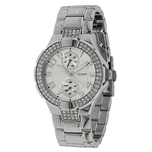 GUESS U12003L1 Status IntheRound Watch  Silver * Check this awesome product by g...