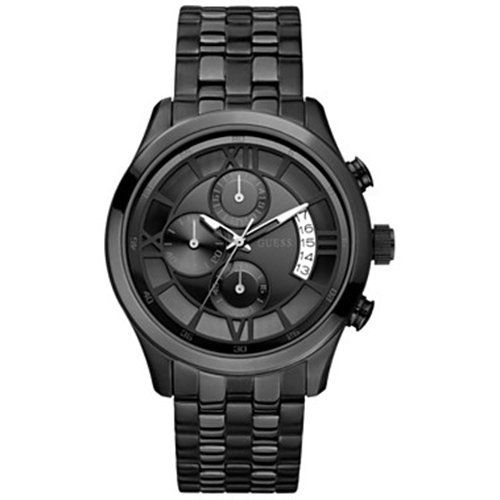 GUESS U17526G1 Roman Numeral Overlay Watch * Read more  at the image link.