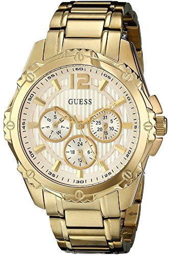GUESS W0232L2,Women's Active Sport Gold-Tone Mid-Size Watch Multi Function *...