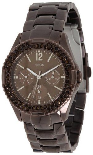 GUESS Womens U13631L1 Feminine Classic HiEnergy Bronz Watch -- Read more reviews...