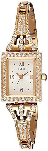 GUESS Women's W0430L3 Classic Rose Gold-Tone Watch *** Want additional info?...