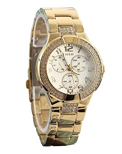 GUESS Women's I16540L1 Prism Multifunction Watch ** Read more reviews of the...