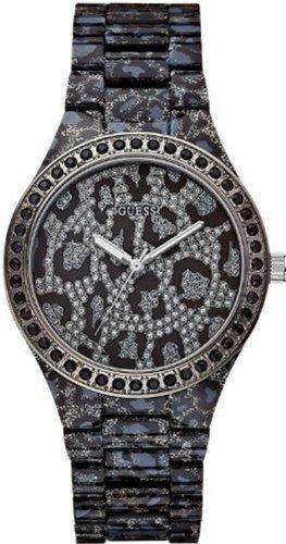 GUESS Women's U0015L1 Sporty Animal Trend Leopard-Print Watch *** Details ca...