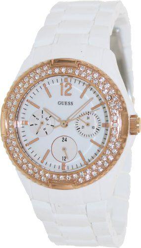 GUESS Women's U0062L6 Rose Gold-Tone Feminine Classic Watch -- Want addition...