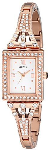 GUESS Womens U0430L3 Classic Rose GoldTone Watch -- To view further for this ite...