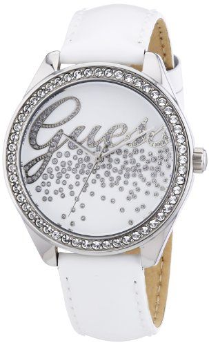 Guess W60006L1 Ladies LITTLE PARTY GIRL White Watch -- Visit the image link more...