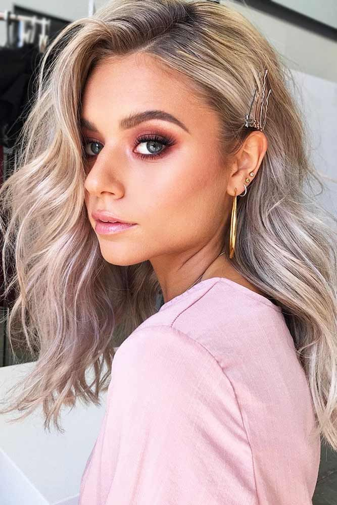 Ash Blonde Hair Color Idea #blondehair #wavyhair  ❤️ Dirty blonde hair is so...