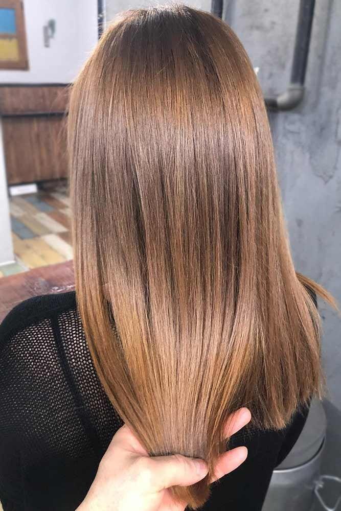 Hair Color 2017 2018 Ashy Shade Of Brown Brownhair Straighthair