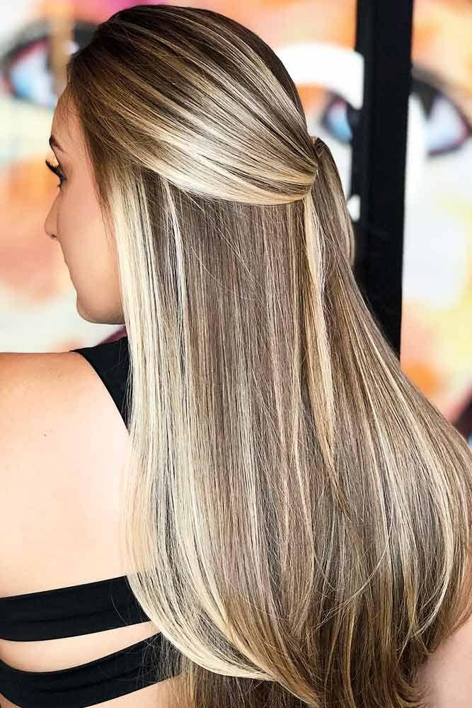 Hair Color 2017 2018 Blonde Highlights On Ash Brown Base