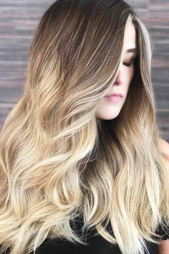 Hair Color 2017 2018 Blonde Ombre Hair With Slightly Cooler