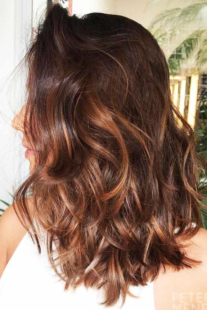 Hair Color 2017 2018 Chestnut Brown Shade With Honey Hues