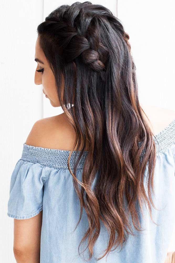 Hair Color 2017 2018 Coffee Brown Highlights On Dark Hair