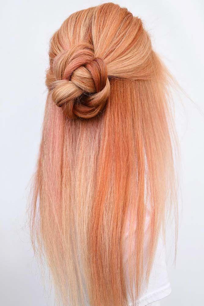 Coral Shades #haircolor #peachhair #copperhair � Peach hair is having a great ...
