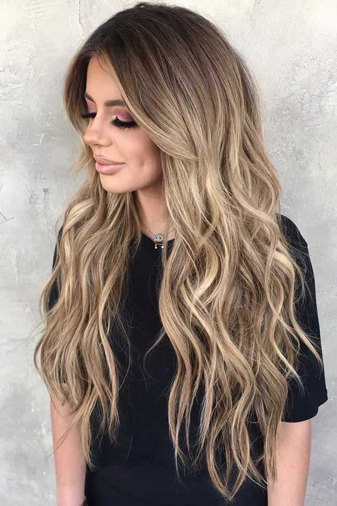 Hair Color 2017 2018 Curly Dirty Blonde Hair With
