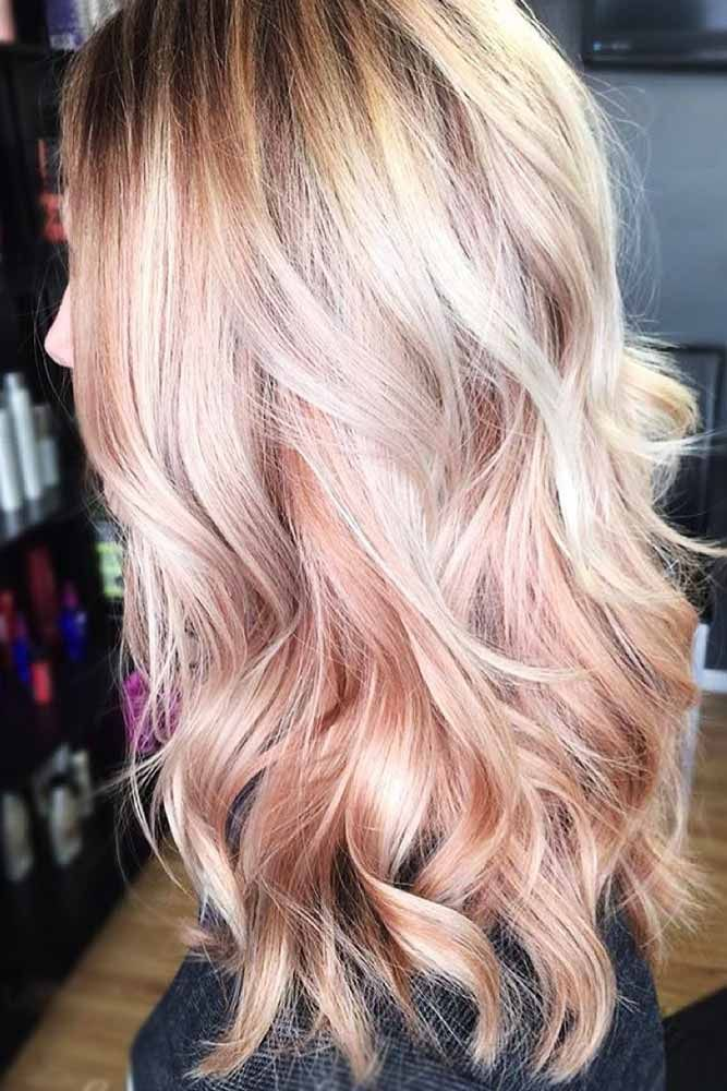 Hair Color 2017 2018 Cute Dirty Strawberry Blonde Hair Wavyhair