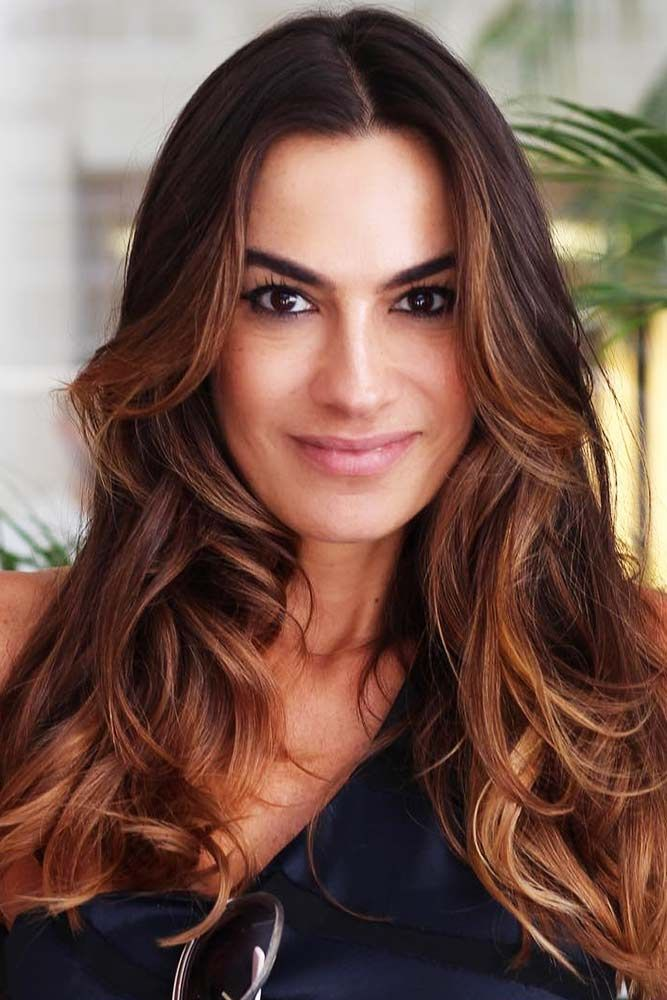 Face-Framing Caramel Balayage #brownhair #balayage ❤️ Want to find some ches...