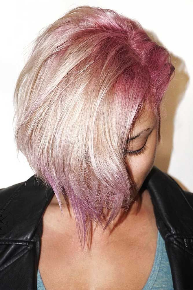 Hair Color 2017 2018 Fancy Pink Highlights Underneath Hair