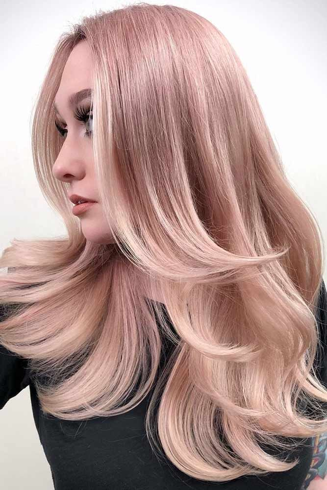 Hair Color 2017 2018 Lovely Light Pink Hair Color Pinkhair