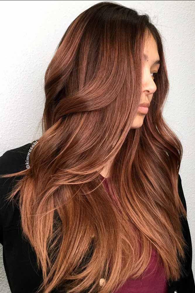 Hair Color 2017 2018 Medium Auburn Hair Color Redhair Wavyhair