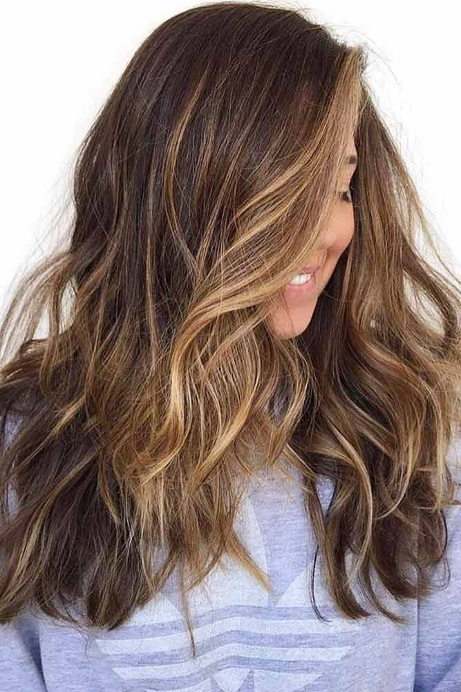 Hair Color 2017 2018 Most Delectable Caramel Highlights Hair Wavy