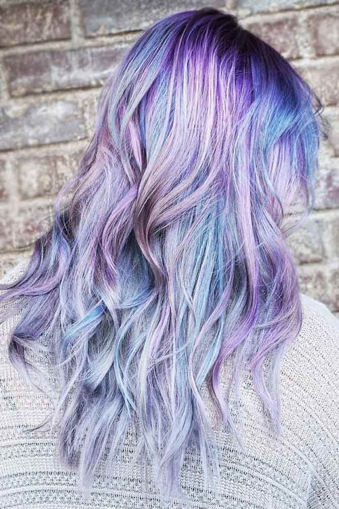 Multidimensional Lavender Highlights #lavenderhair #highlights ❤️ Looking fo...