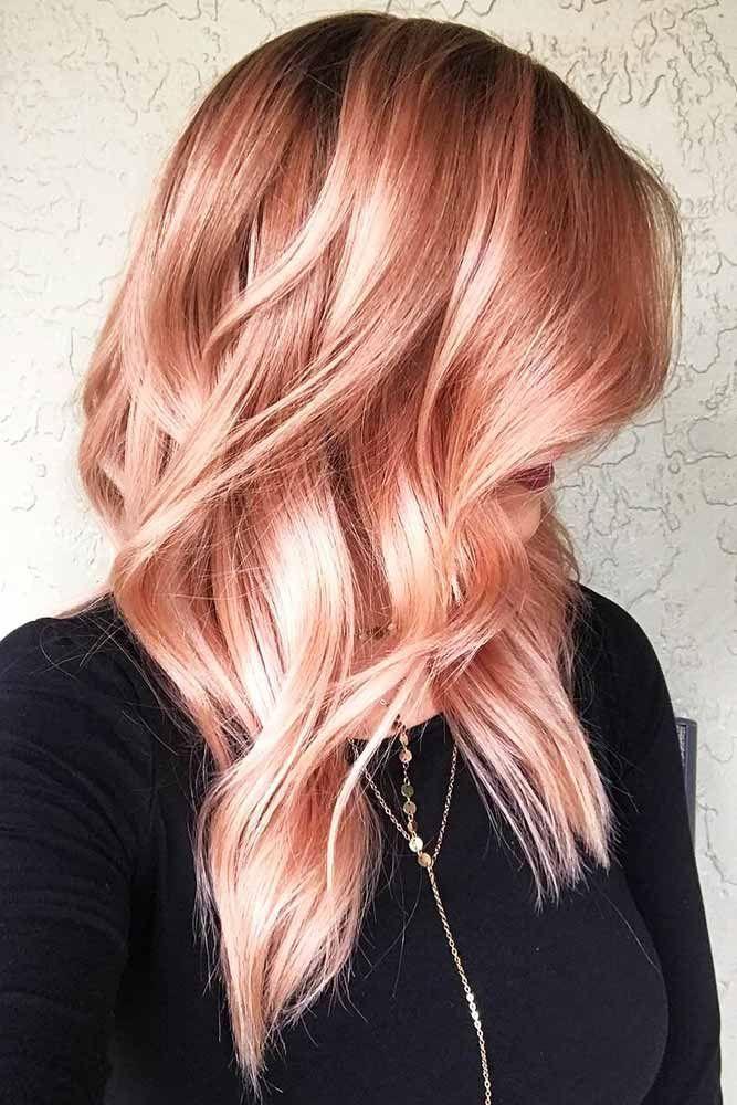 Hair Color 2017 2018 Peachy Red Hair Redhair Wavyhair