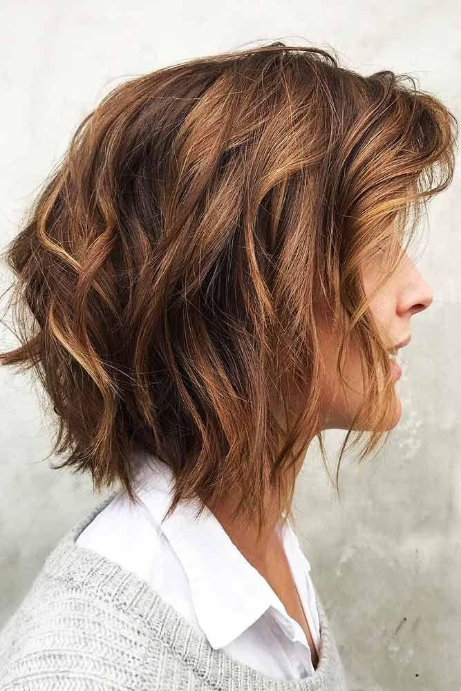 Posh Golden Brown Hair Color #brunettehair #brownhair #bob ❤️ Discovering ha...