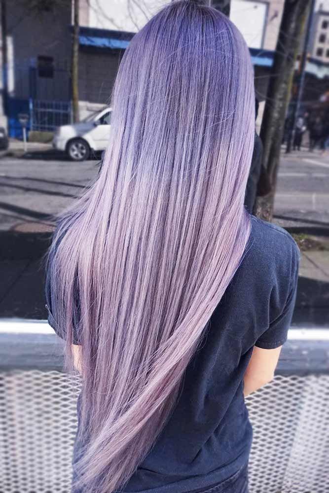 Subtle Lavender Ombre Hair #lavenderhair #ombre ❤️ Looking for lavender hair...