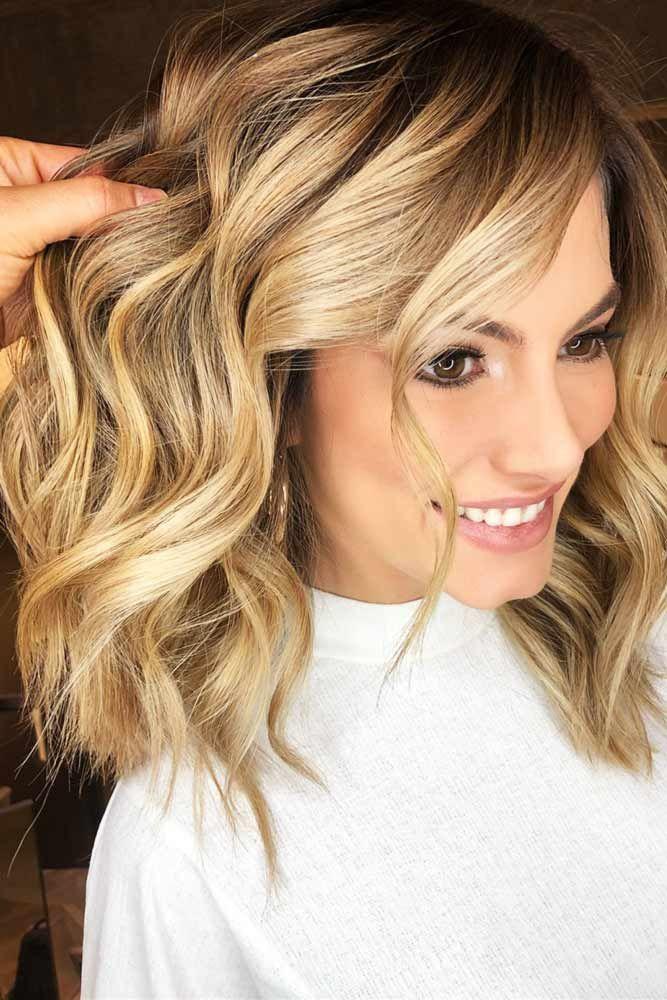 Sweet Honey Blonde #blondehair #mediumhair #wavyhair ❤️ Discovering hair col...