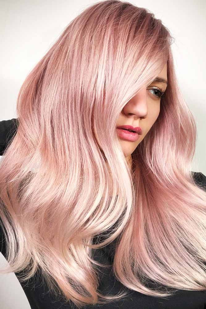 Sweet and Gentle Amaranth Pink Hair #pinkhair #wavyhair  ❤️ Want to get past...