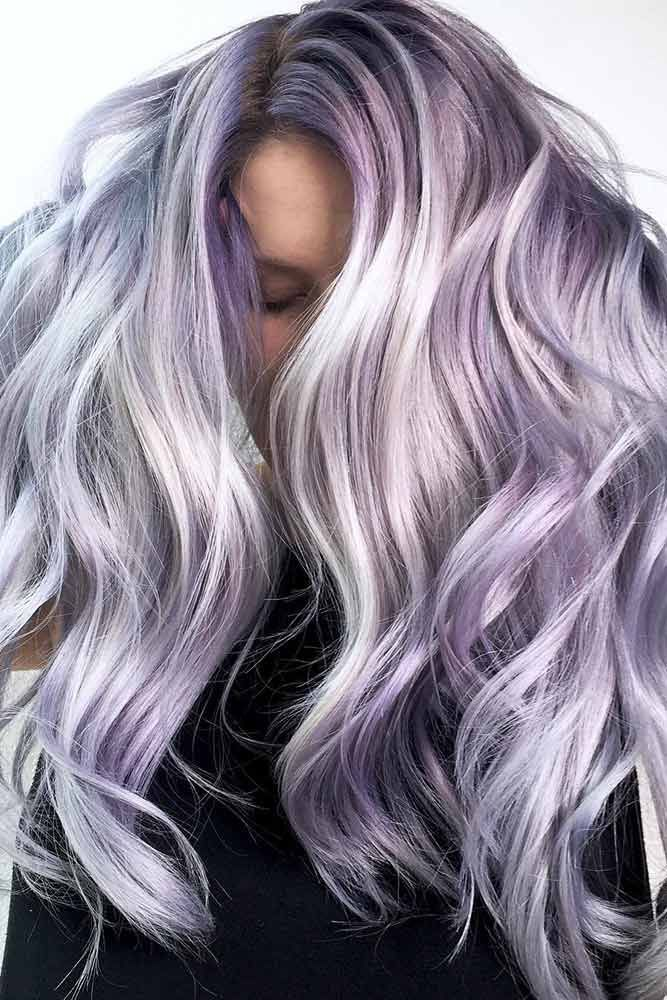 Hair Color 2017 2018 Whitish Blonde Lavender Hair Lavenderhair