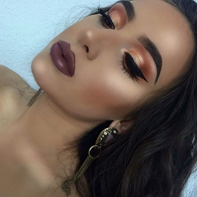 ▫️Lips -Iced Mocha-by Gerard Cosmetics ▫️Lashes -Scarlett #8- by Huda Be...