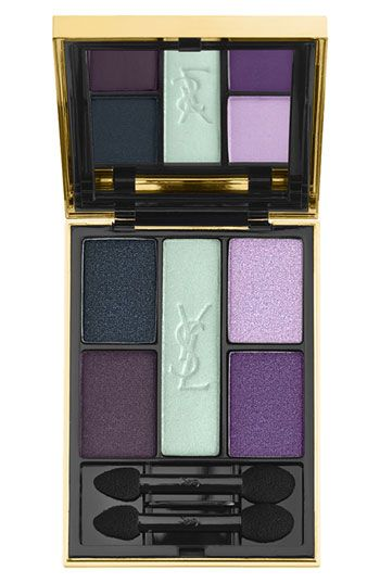 Beautiful palette of mint, purple, and navy rstyle.me/...